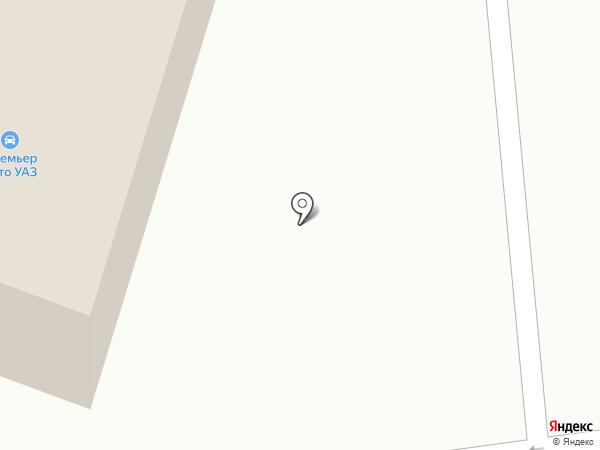 Премьер Авто на карте Смоленска