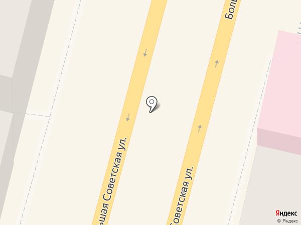 Янтарная лавка на карте Смоленска
