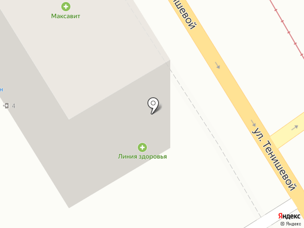 Светлое темное на карте Смоленска