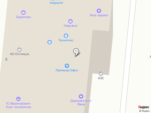 Печатный салон на карте Смоленска