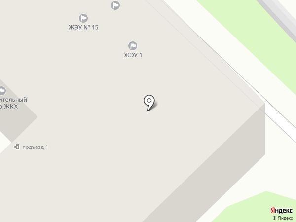 ЖЭУ №15 на карте Смоленска