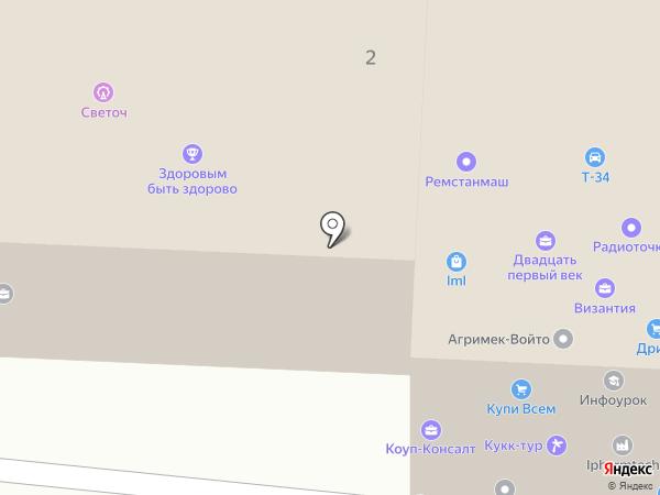 Адвокатский кабинет Поправкина А.А. на карте Смоленска