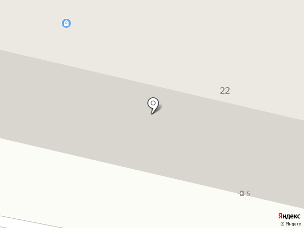 Магазин одежды и кожгалантереи на карте Смоленска