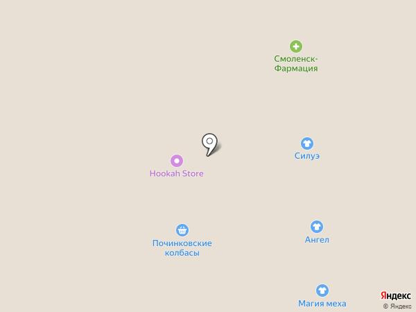 Hookah store на карте Смоленска