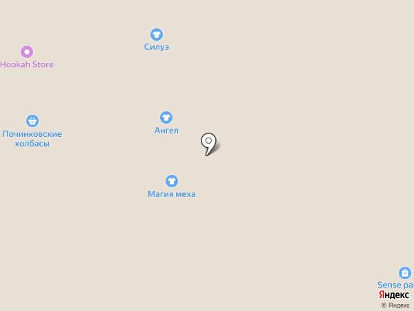 Магия меха на карте Смоленска