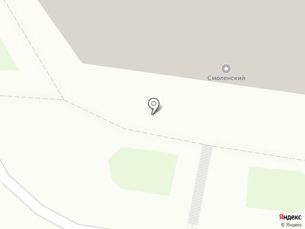 Такса на карте Смоленска