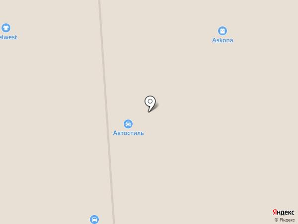 Автостиль на карте Смоленска