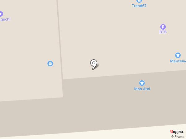 Марк на карте Смоленска