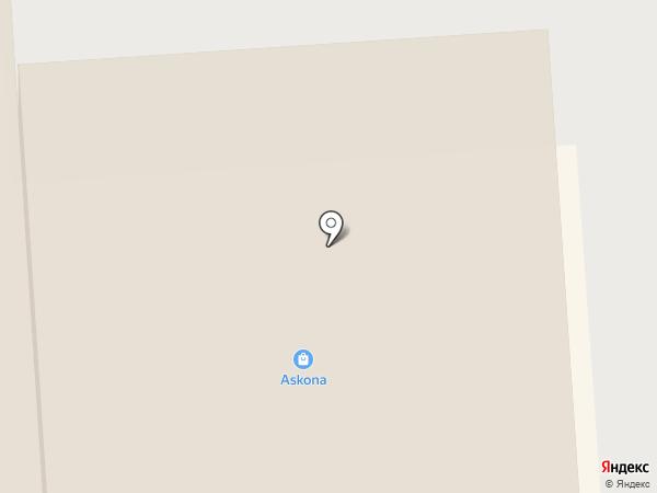 Askona на карте Смоленска
