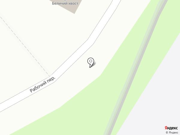 Дикий зверь на карте Смоленска