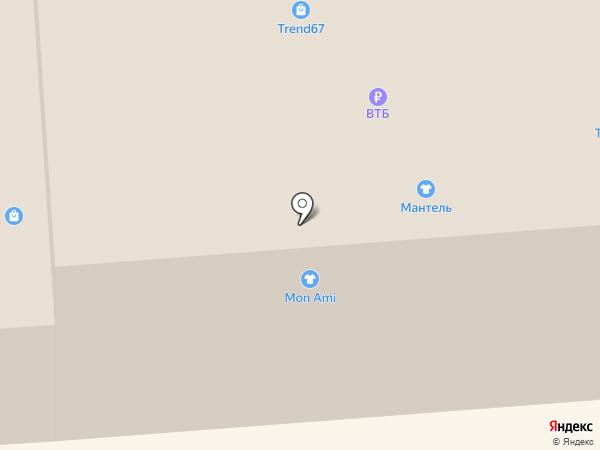 Mon Ami на карте Смоленска