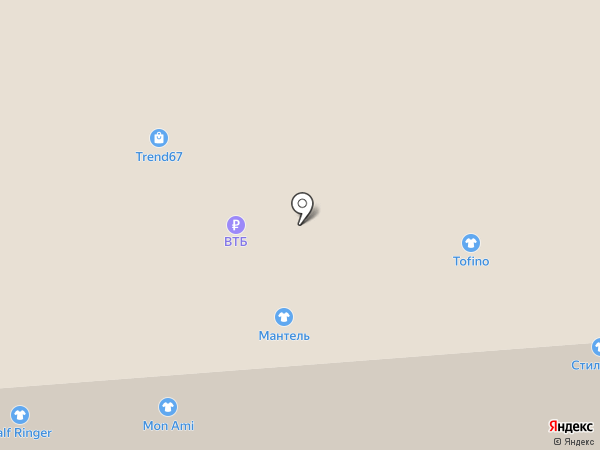 РУССКИЕ МЕХА на карте Смоленска