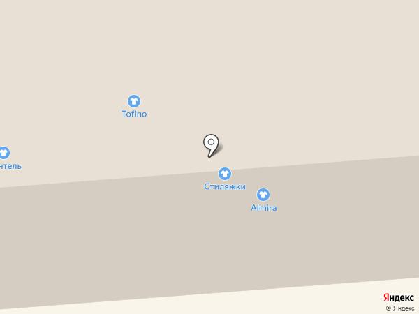 Стиляжки на карте Смоленска