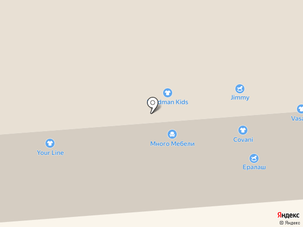 Фаббрис на карте Смоленска