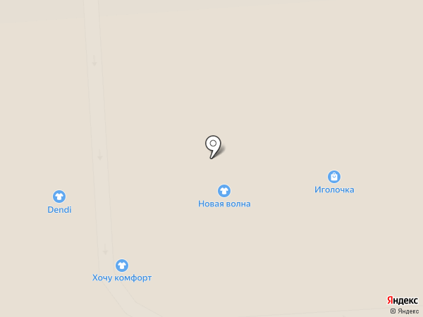 Иголочка на карте Смоленска