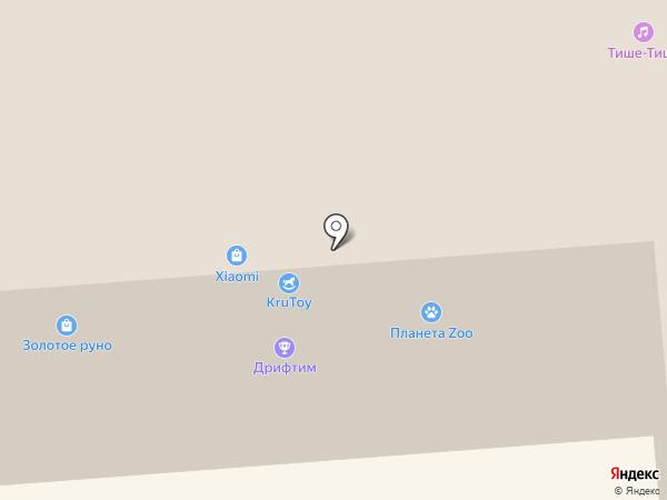 Планета Zoo на карте Смоленска
