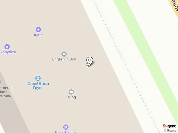 Интехника на карте Смоленска