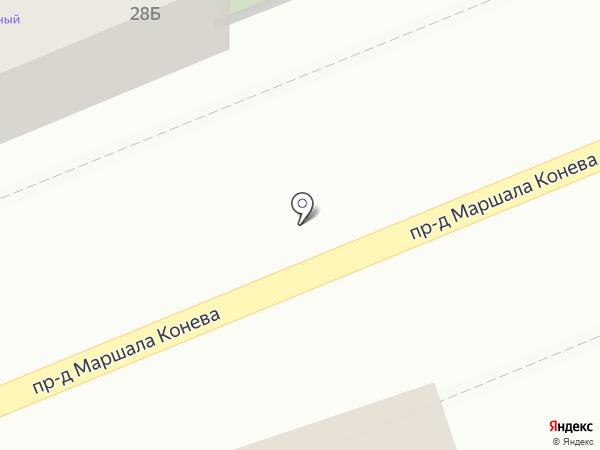 Профкровля на карте Смоленска