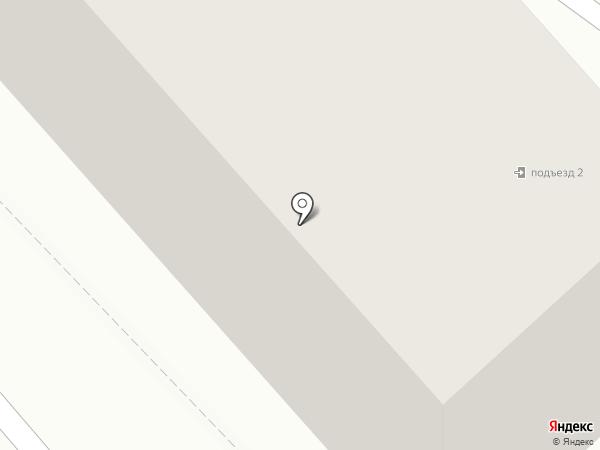 Кисейная барышня на карте Смоленска