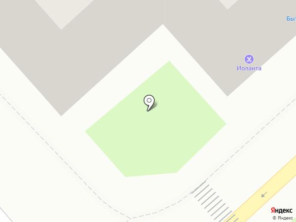 Фигаро на карте Смоленска