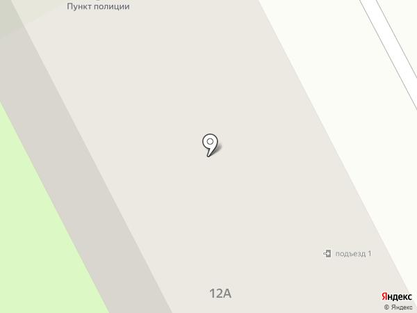 Участковый пункт полиции №4 в Промышленном районе на карте Смоленска