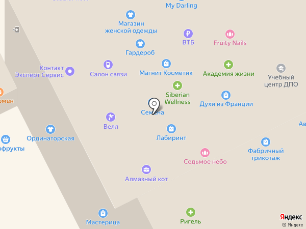 МейТан на карте Смоленска