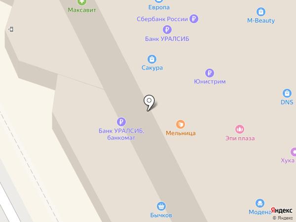 Ногот`ОК на карте Смоленска