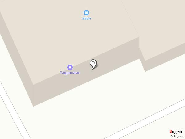 Гидро-Намс на карте Смоленска