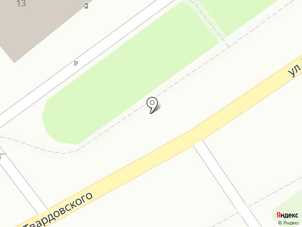 Решение за кадром на карте Смоленска