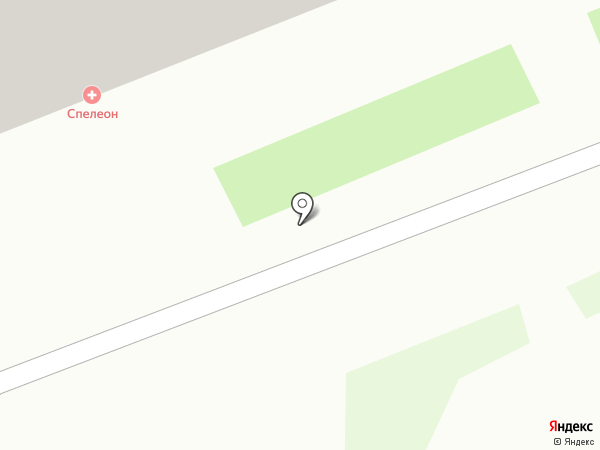 Спелеон на карте Смоленска