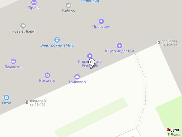 LoRa на карте Смоленска