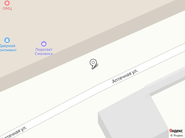 Смотр на карте Смоленска