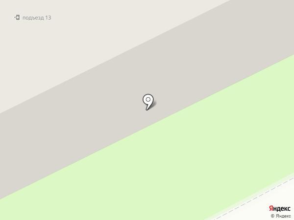 Стелла на карте Смоленска