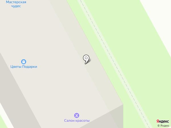 Bellezza на карте Смоленска