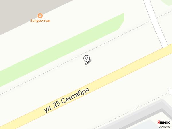 Остановка на карте Смоленска
