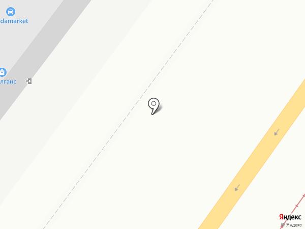 Автоспектр на карте Смоленска