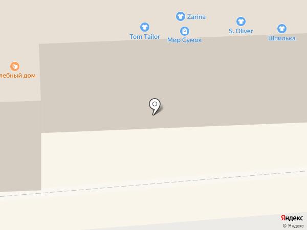 Аэлита на карте Смоленска