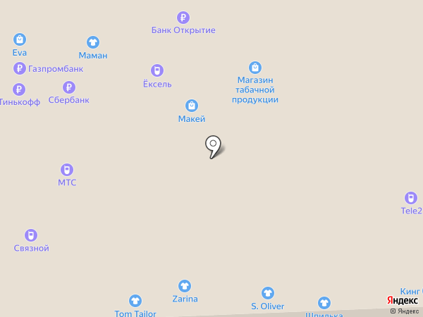 CHESTER на карте Смоленска