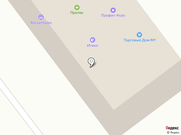 Ардекс на карте Смоленска