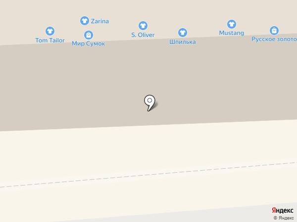 Маман на карте Смоленска