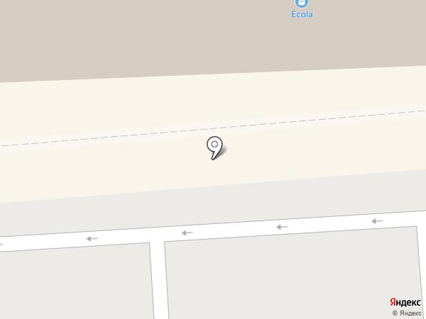 Красный куб на карте Смоленска