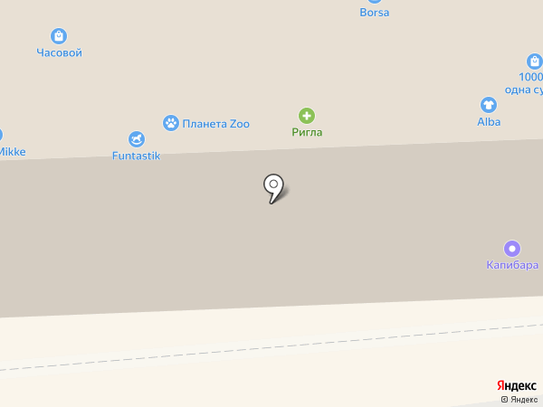 Accent на карте Смоленска