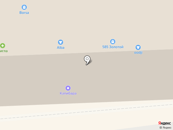 Матрешка на карте Смоленска
