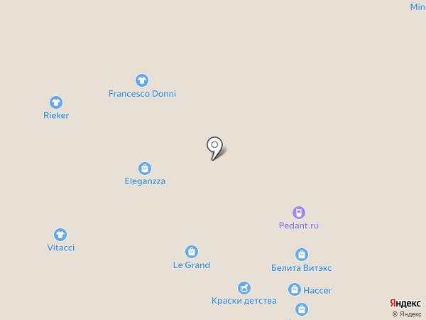 Reebok на карте Смоленска