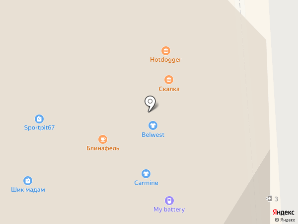 Tea Funny на карте Смоленска
