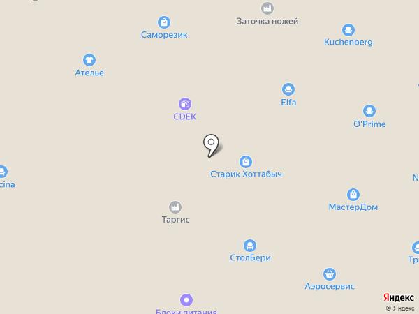 Древиндустрия на карте Смоленска