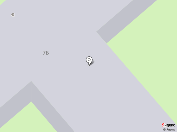 Средняя общеобразовательная школа №29 с углубленным изучением отдельных предметов на карте Смоленска