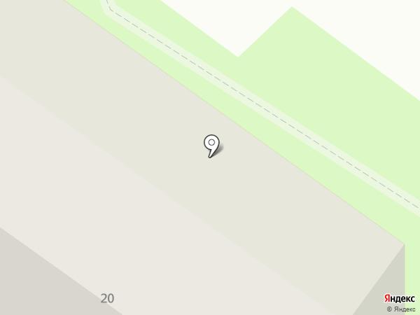 Талисман на карте Смоленска