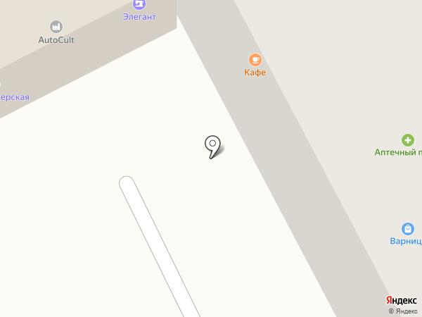 Парикмахерская на карте Смоленска