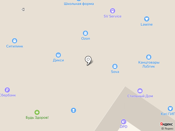 Моко-локо на карте Смоленска